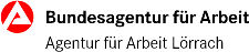 Logo Agentur für Arbeit Lörrach