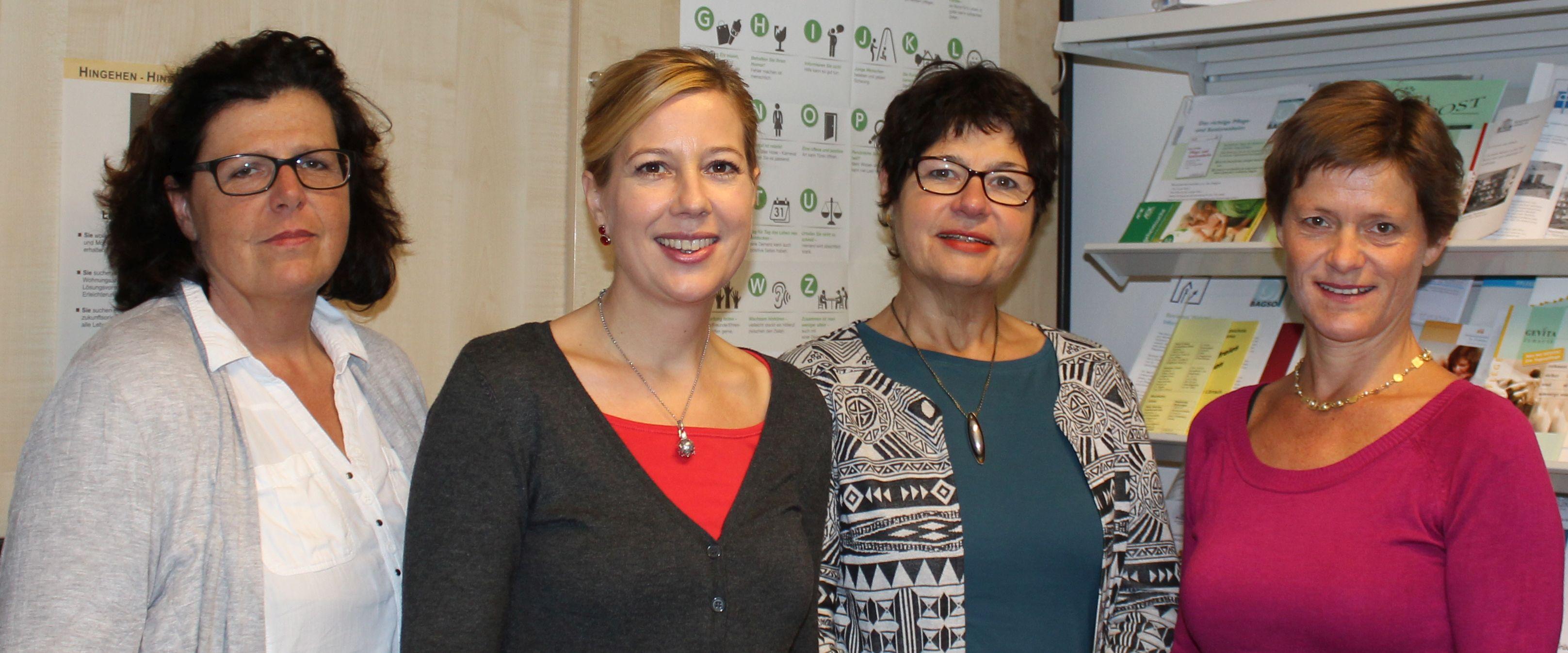 Team des Pflegestützpunkts Landkreis Lörrach