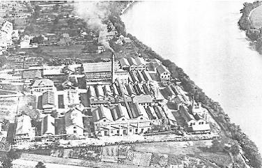 Werksgelände BASF ca. 1920