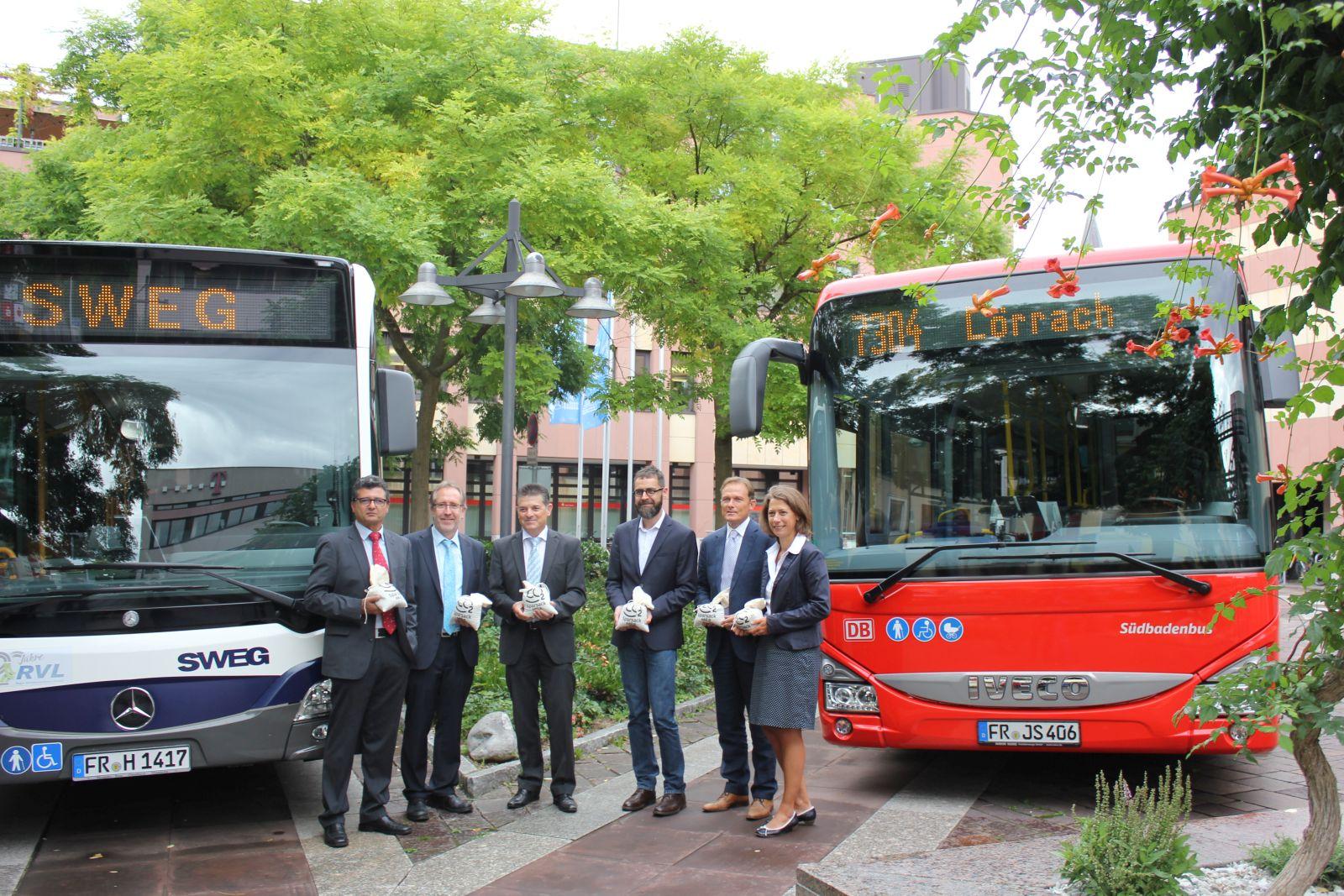 Buskampagne zum Deutschland-Tag des Nahverkehrs