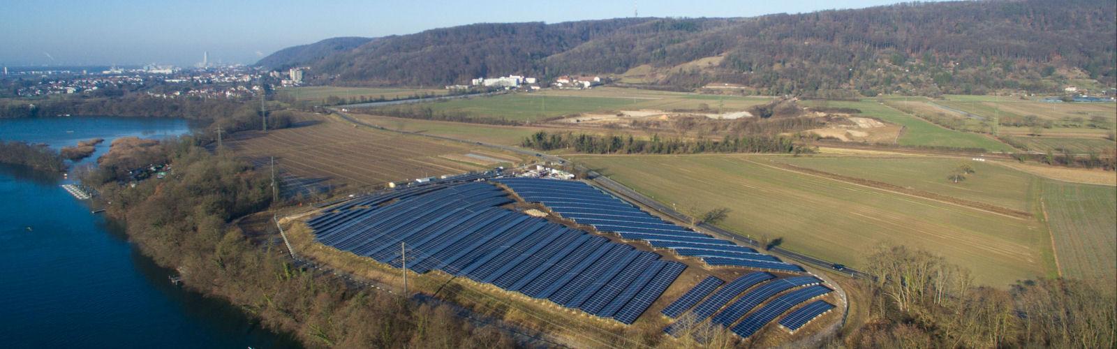 Alte Deponie Herten - Solaranlage