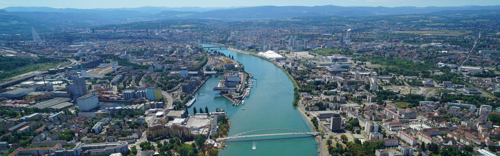 Luftbild Dreiländereck