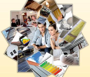 """Cover-Bild der Broschüre """"Bauen und Sanieren"""""""