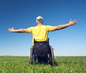 Wegweiser für Menschen mit Behinderung