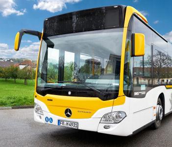 Ab dem 10. Dezember fährt der neue Regio-Bus zwischen Kandern und Lörrach-Brombach/Hauingen, für den derzeit noch ein Name gesucht wird.