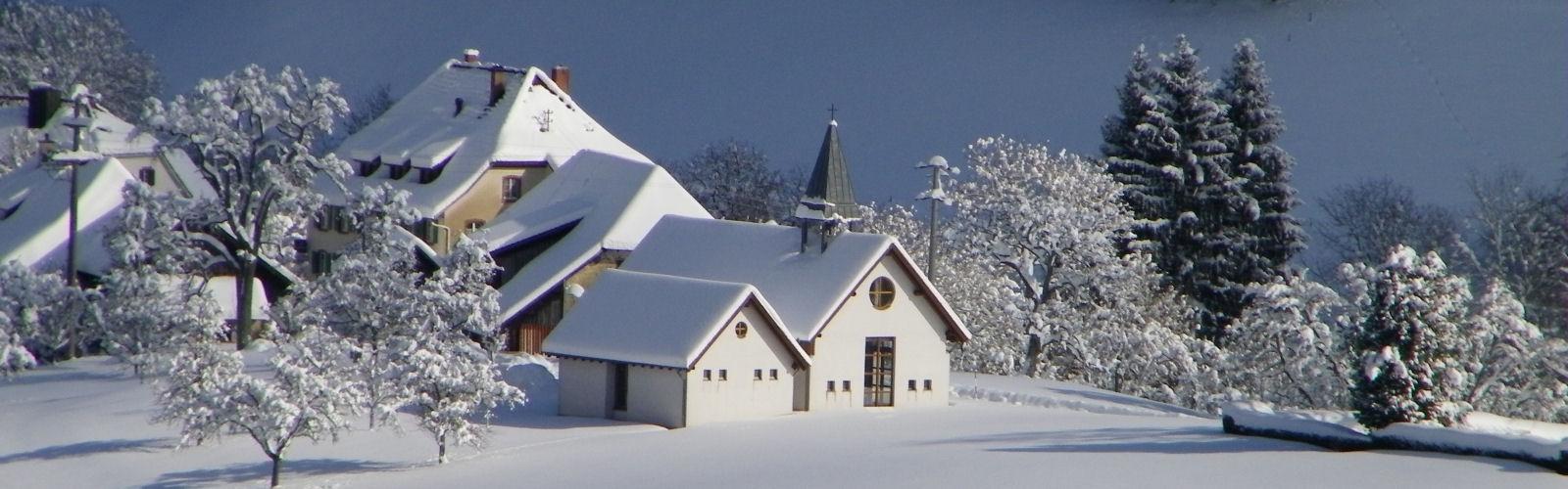 Rieder Kapelle im Winter