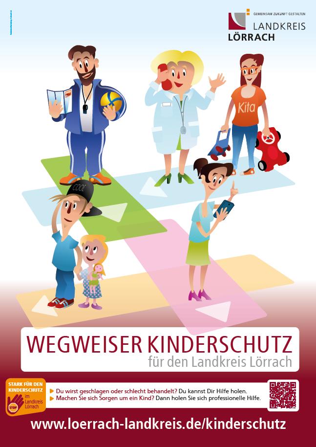 Poster Wegweiser Kinderschutz