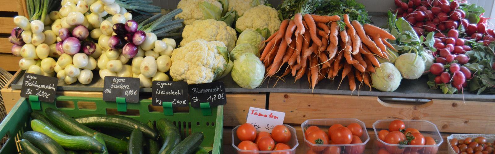 Gemüsekisten aus dem Landkreis Lörrach
