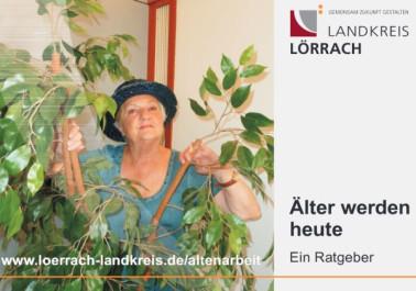 """Titelseite des Ratgebers """"Älter werden heute"""""""