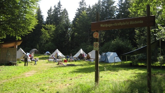 Waldjugendzeltplatz Bödemle