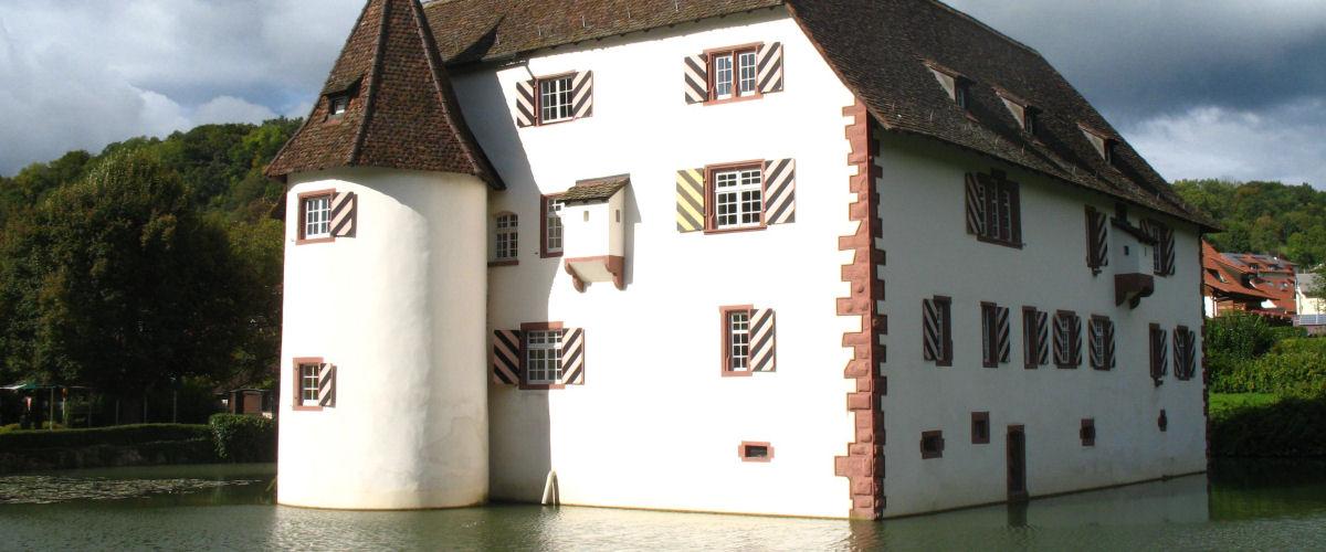 Wasserschloss Inzlingen, Foto: Landkreis Lörrach