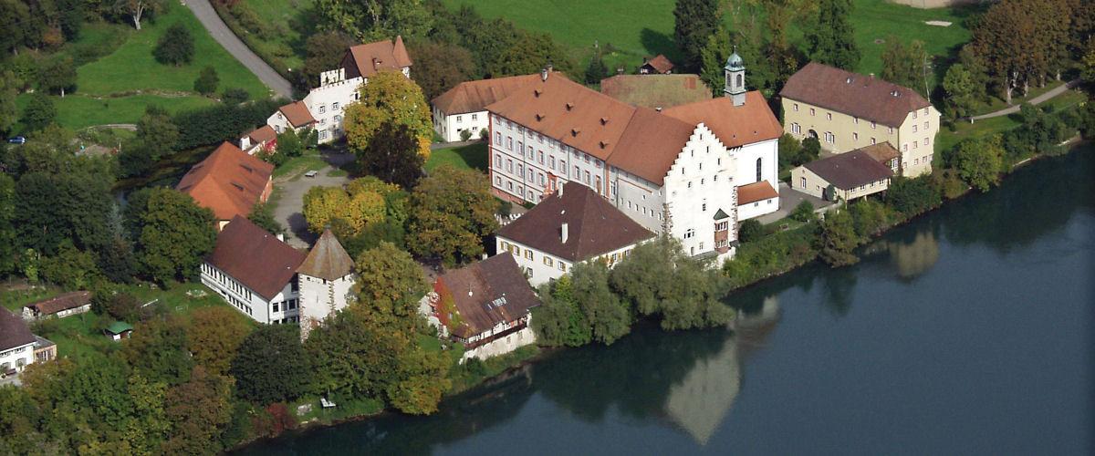Schloss Beuggen von oben, Foto: Tourismus & Stadtmarketing Rheinfelden