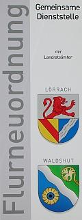 Logo gemeinsame Dienststelle- Flurneuordnung Bad Säckingen