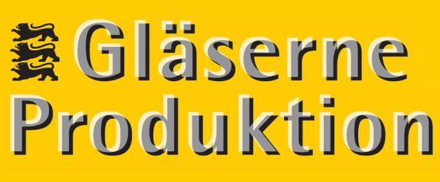Logo Gläserne Produktion