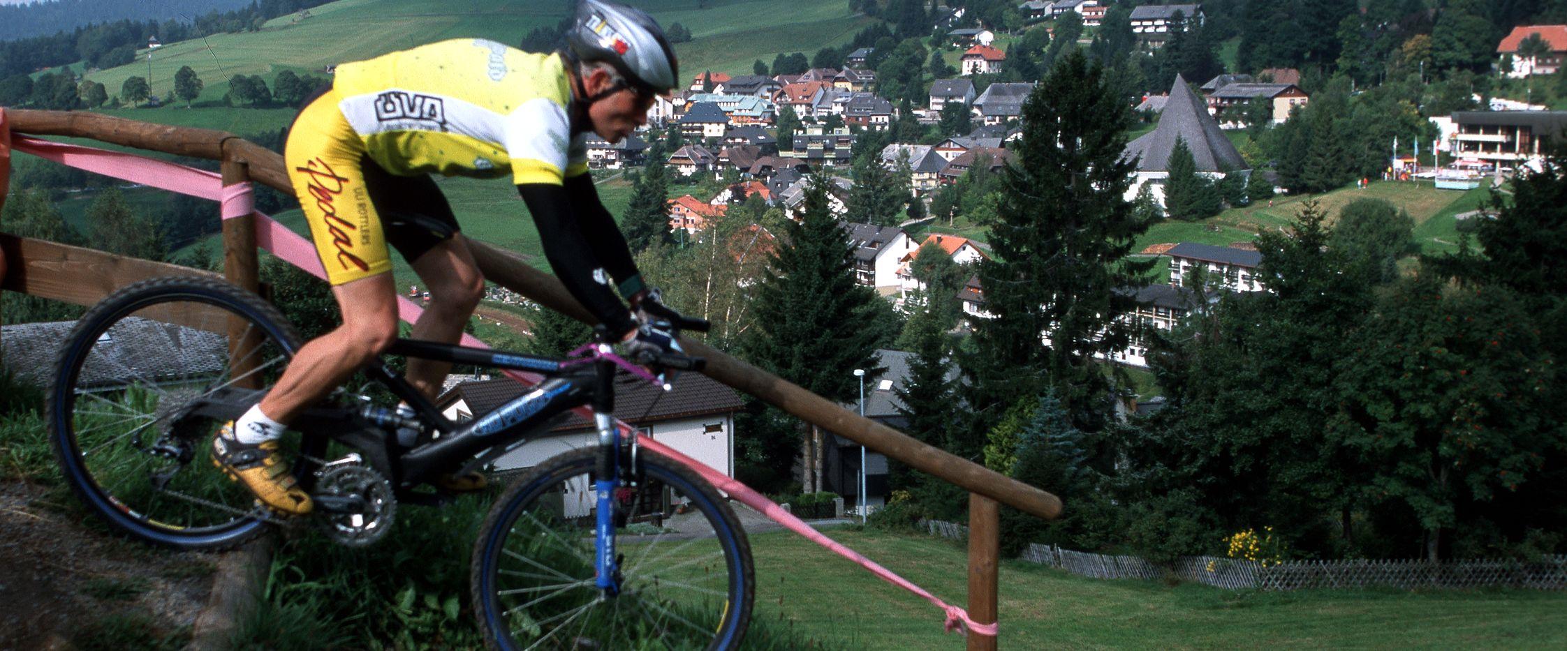 Mountainbiker im Oberen Wiesental, Foto: Stadt Todtnau