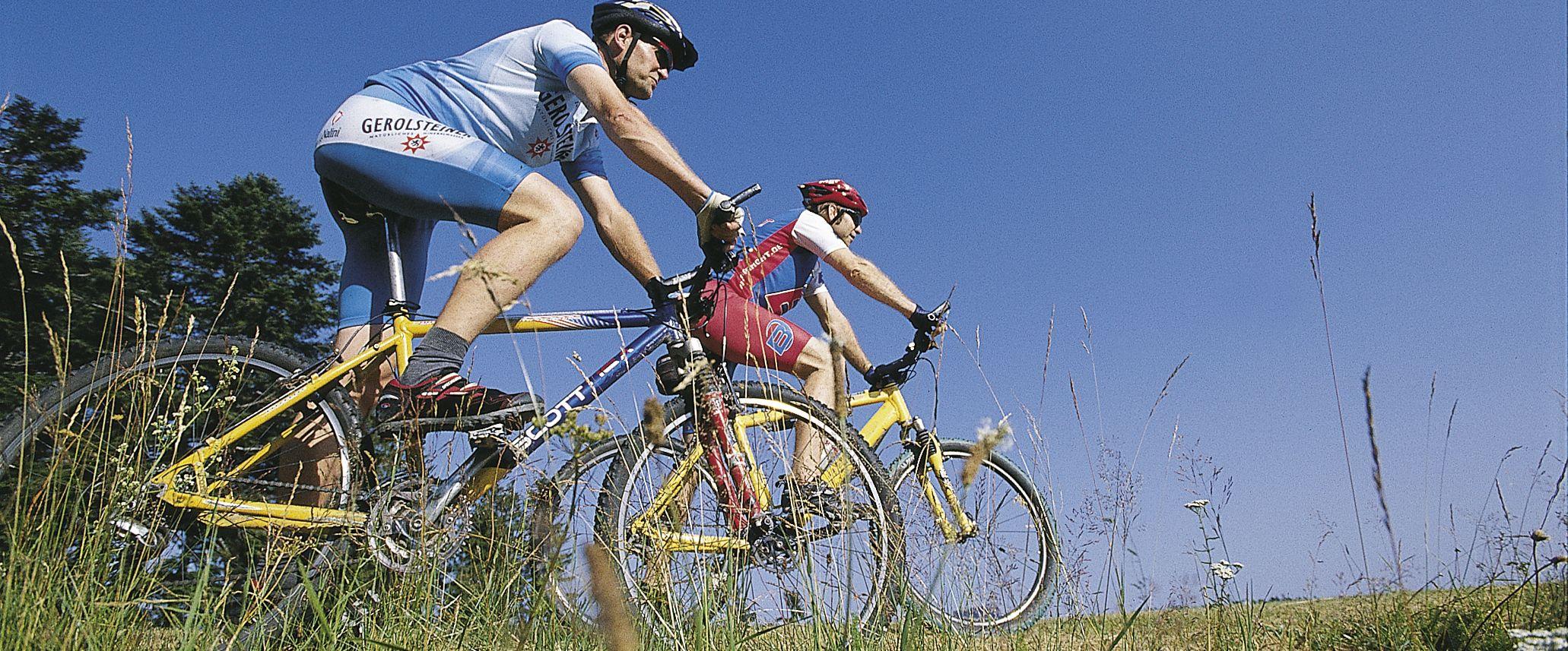 Mountainbiker bei Schopfheim, Foto: Stadt Schopfheim