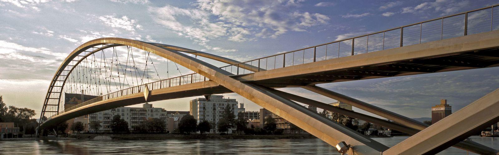 Dreiländerbrücke Weil am Rhein