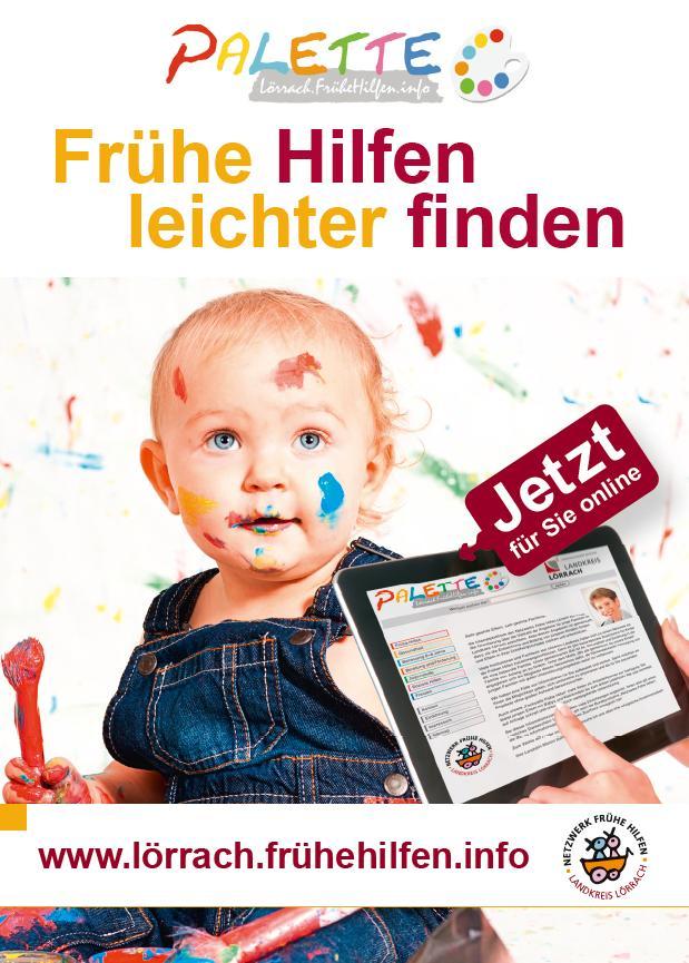 Postkarte Kind Frühe Hilfen