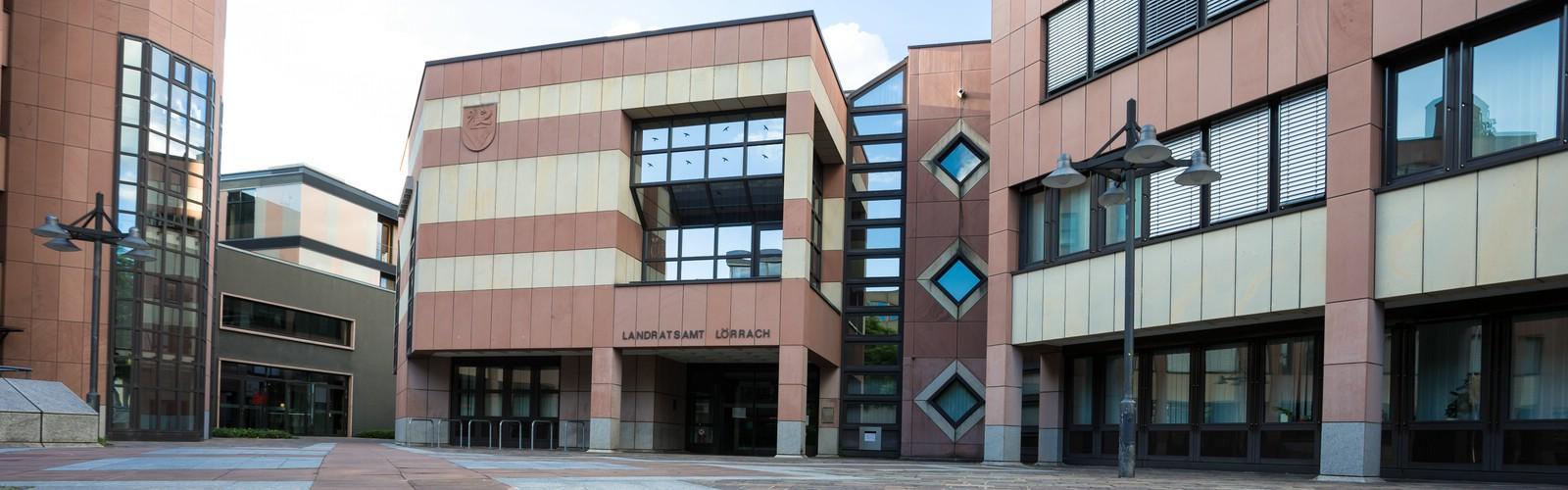 Landratsamt Lörrach, Eingangsbereich