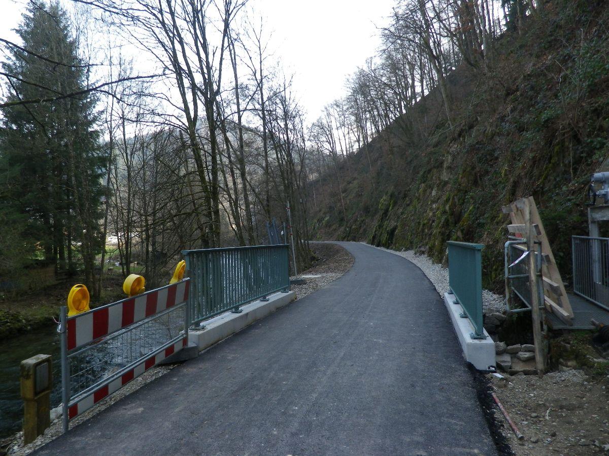 Neue Brücke Todtnauerli