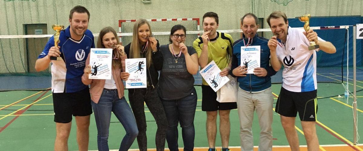 Beim Sport in Lubliniec