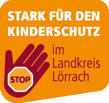 Logo: Stark für den Kinderschutz im Landkreis Lörrach