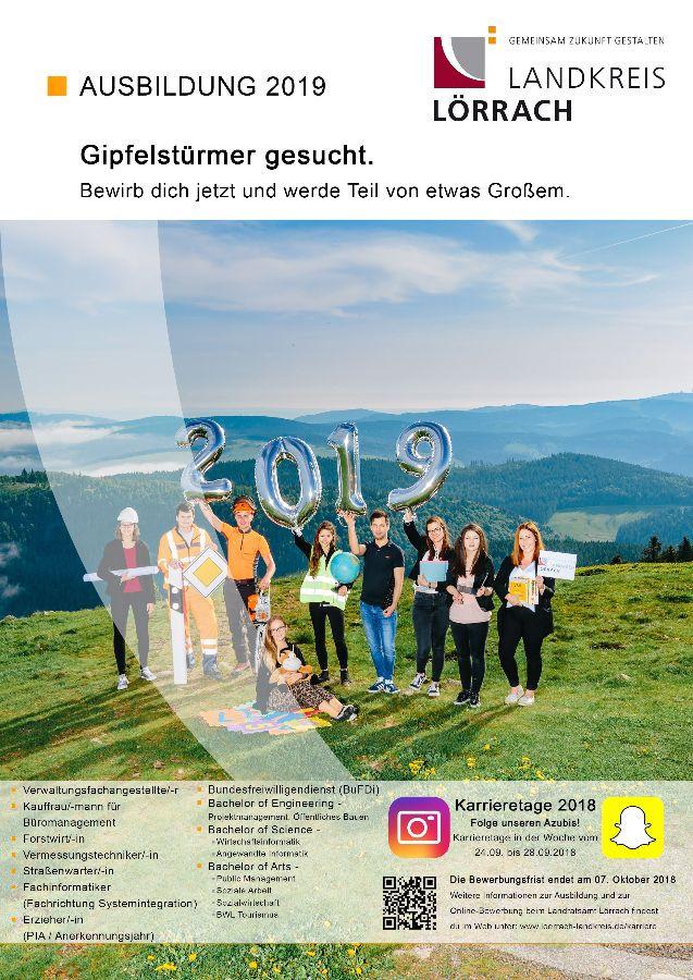 Landkreis Lörrach Gemeinsam Zukunft Gestalten Ausbildung