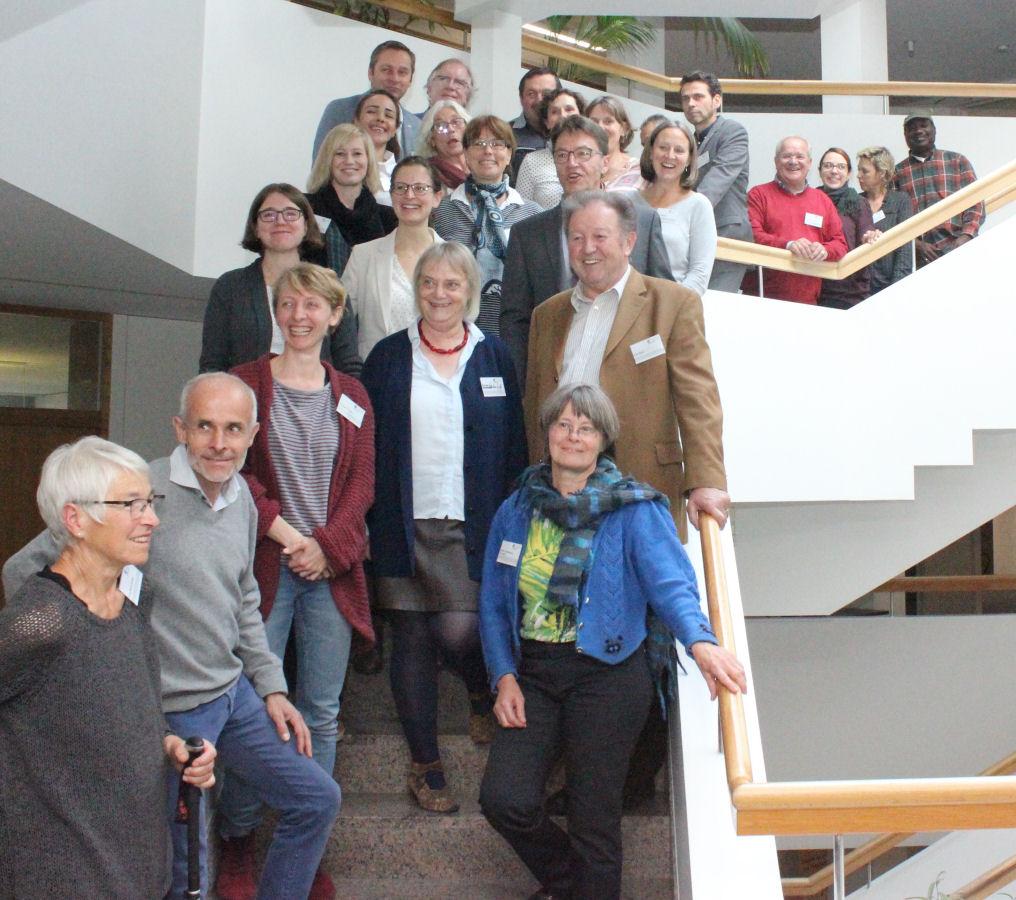 Arbeitsgruppe Integration beim ersten Workshop Ende Oktober im Landratsamt Lörrach. (Foto: Landratsamt Lörrach)