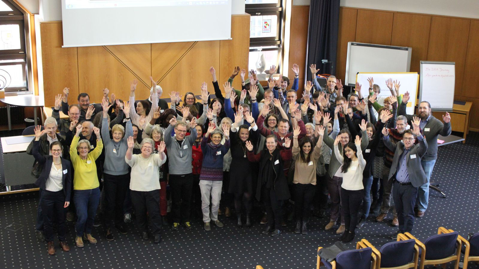 Teilnehmer der Zukunftswerkstatt Integration
