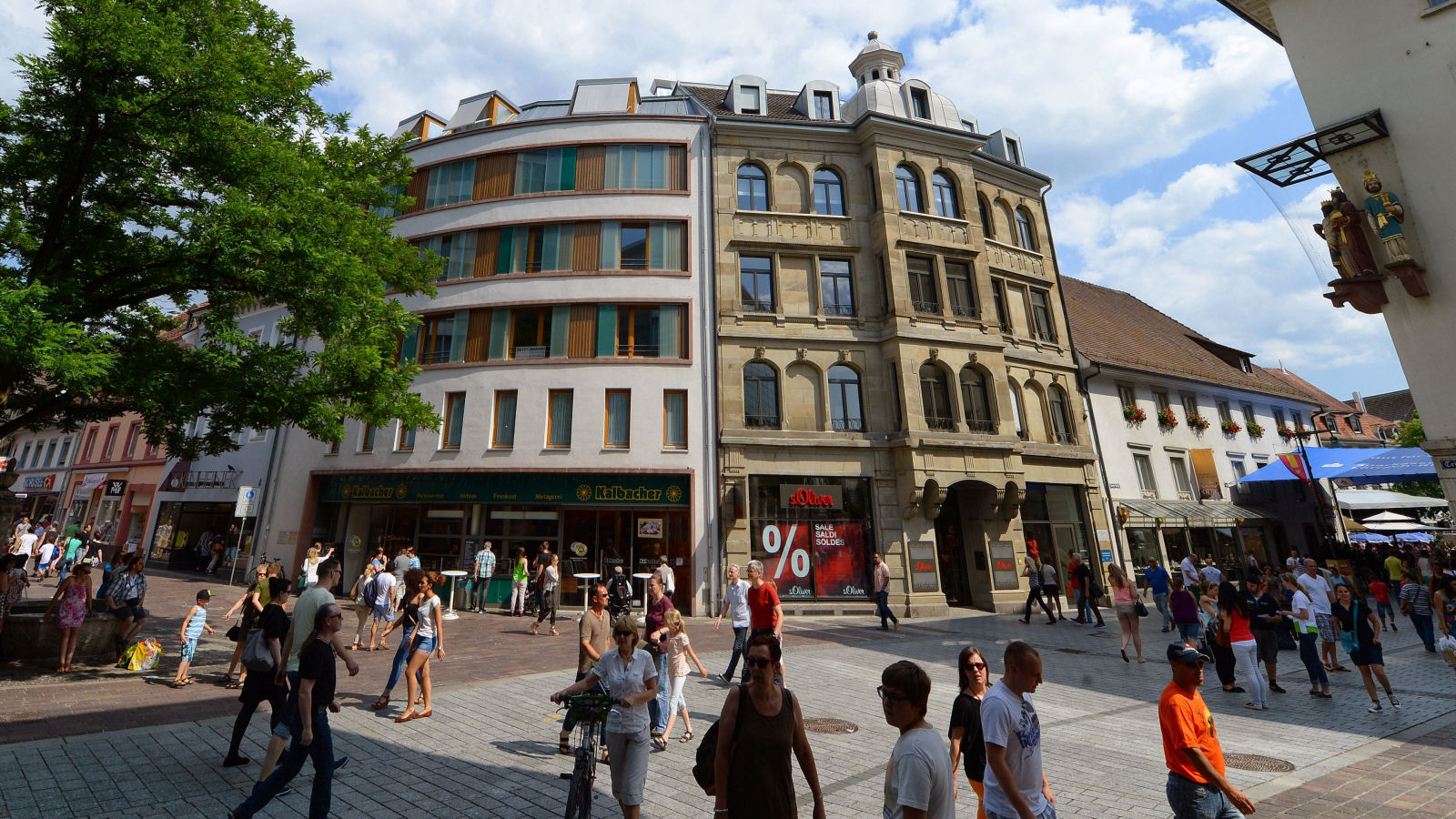 Stadt Lörrach - Fußgängerzone / Copyright by Juri JunkovPublikation