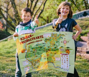 Kinder-Freizeitkarte