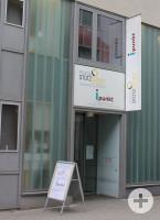 Der Eingangsbereich des Pflegestützpunktes in Lörrach