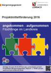 Plakat Projektmittelförderung 2016