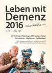 Plakat zur Demenzkampagne 2016