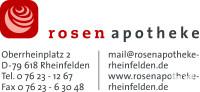 Logo der Rosenapotheke Rheinfelden