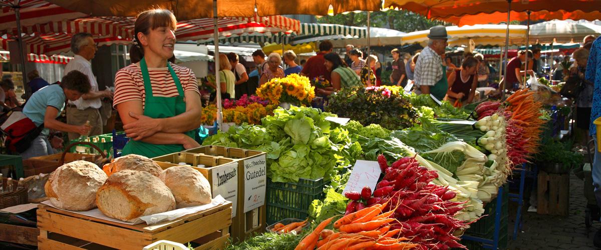Markt in Lörrach