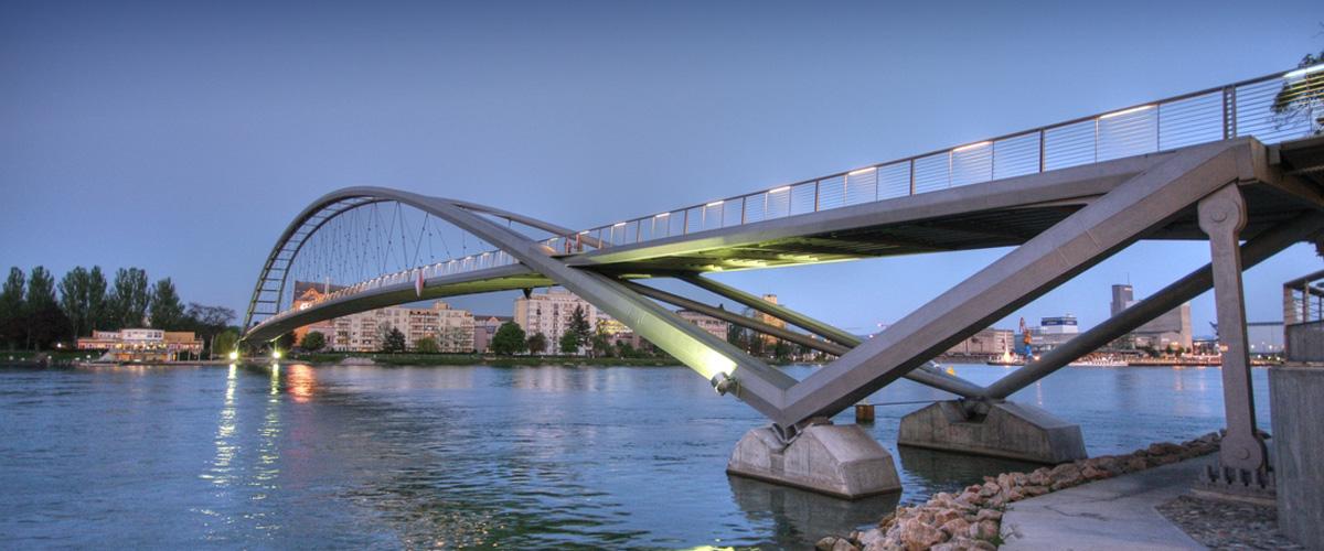 Brücke in Weil am Rhein