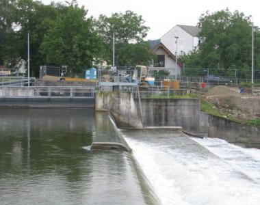 Wasserkraftanlage Wiese
