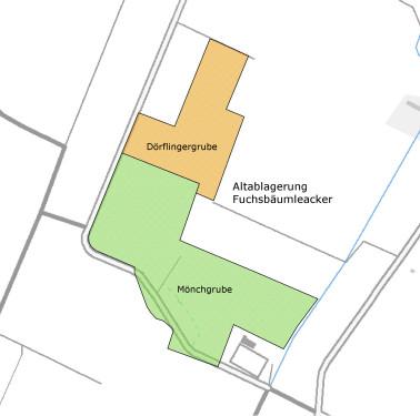 Karte der Altablagerung Fuchsbäumleacker