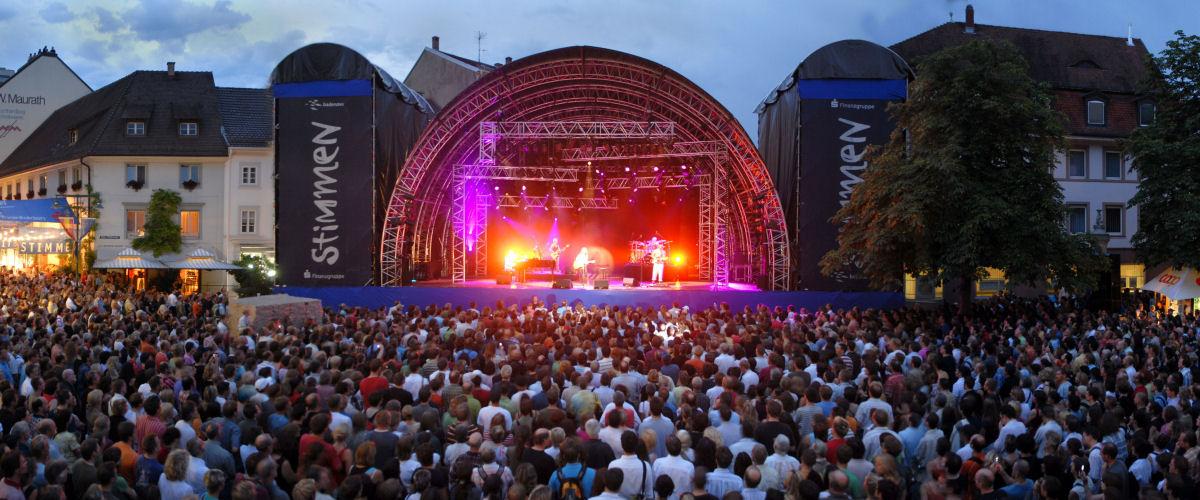 Katie Melua beim Stimmen-Festival in Lörrach, Foto: Touristinformation Lörrach