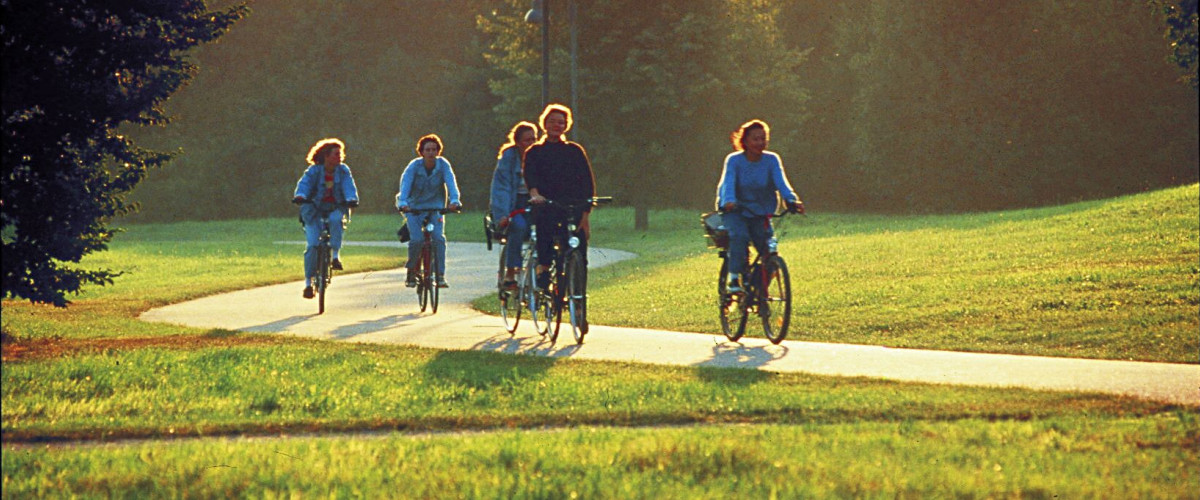 Radfahrer bei Lörrach, Foto: Stadt Lörrach
