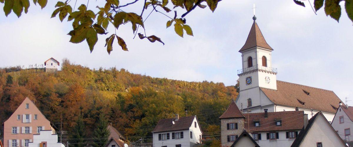 Efringen-Kirchen im Herbst