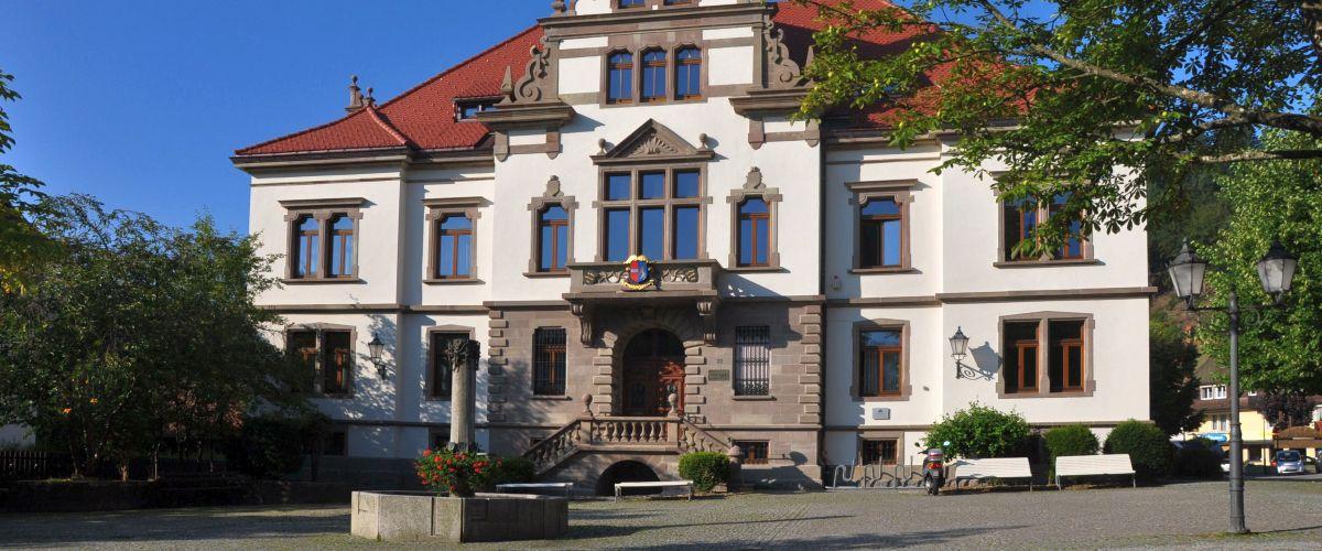 Rathaus in Schönau im Schwarzwald
