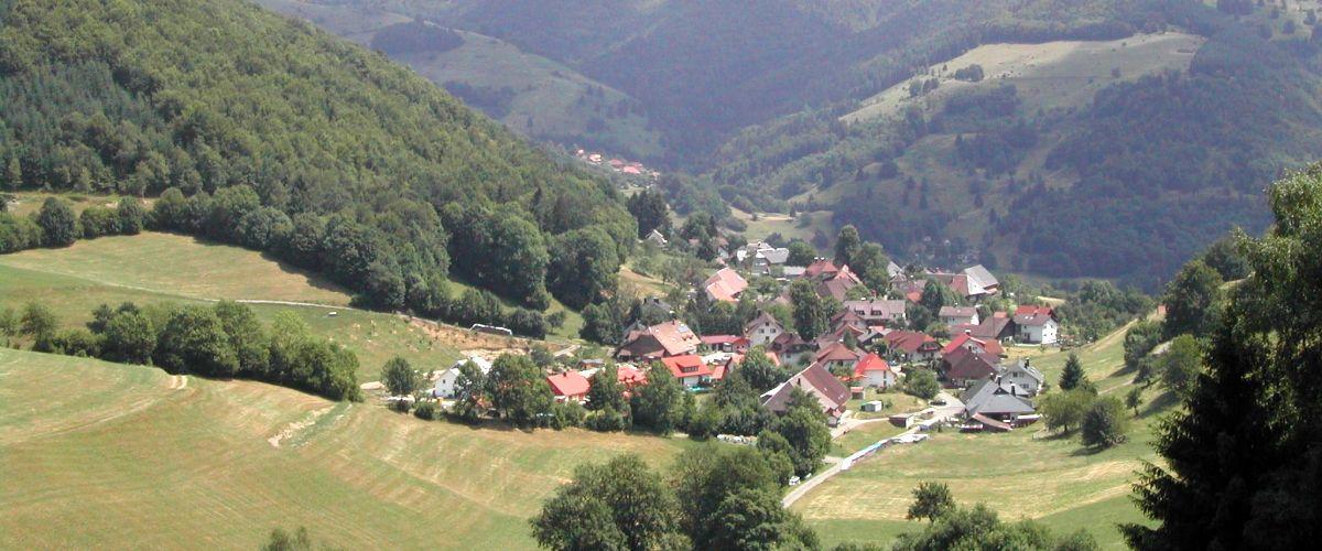 Gemeinde Schönenberg Luftbild