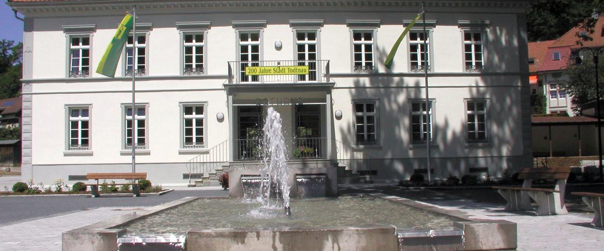 Rathaus in Todtnau