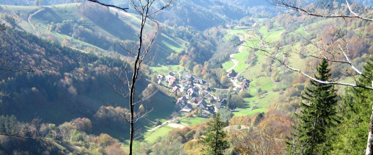 Gemeinde Tunau Luftbild