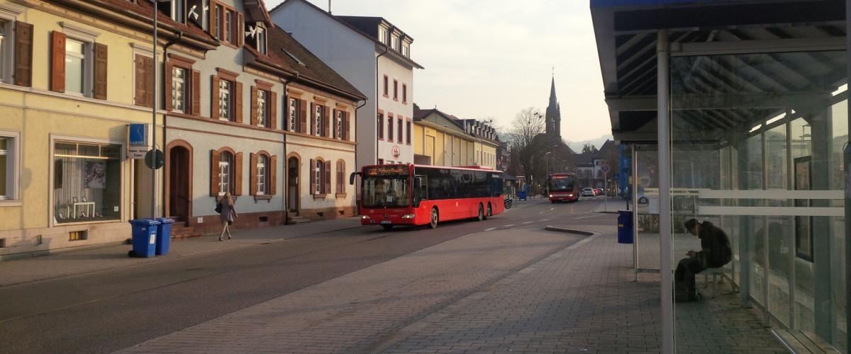 Bus in Schopfheim