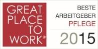 Auszeichnung: Beste Arbeitgeber Pflege 2015