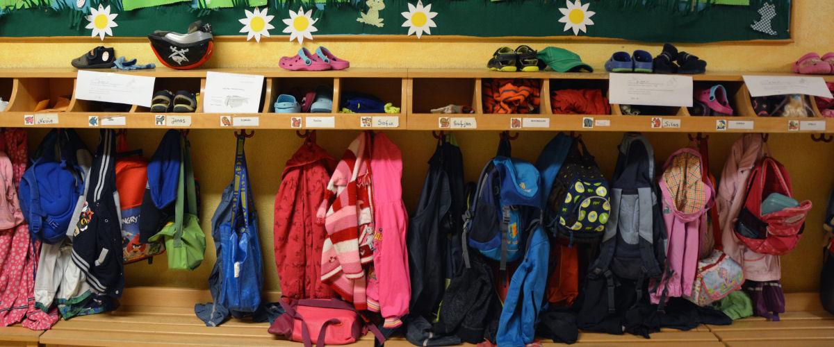 Kindergarten: Garderobe