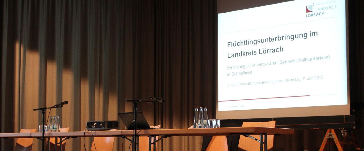 Bürgerinfo-Veranstaltung in Schopfheim-Fahrnau